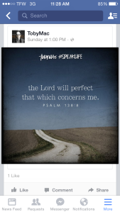 the Lord will perfect